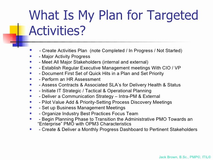 100 Day Plan Template Best Of 100 Day Plan for Directing A Pmo