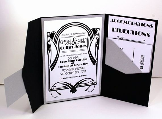 1920s Invitation Template Free Best Of Vintage Glam 1920 S Gatsby Inspired Art Deco Old Hollywood
