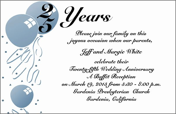 25th Wedding Anniversary Invitation Cards New Best Quotes for 25th Wedding Anniversary Image Quotes at Hippoquotes