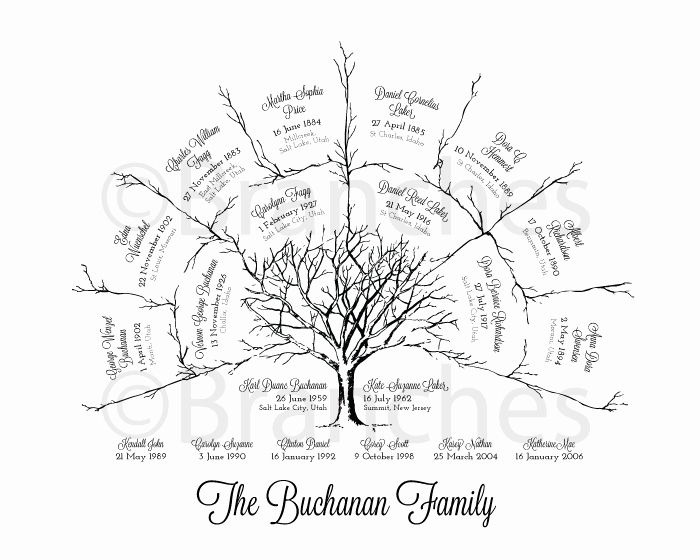 3 Generation Family Trees Inspirational Ancestral Family Tree 3 Generation — Name Submission Instructions – Branches