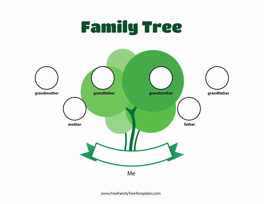 3 Generation Family Trees Lovely 3 Generation Family Tree Template – Free Family Tree Templates