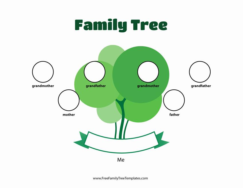 3 Generation Family Trees Lovely 3 Generation Family Tree Template – Free Family Tree Templates