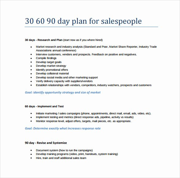 30 Day Plan Template Luxury 28 30 60 90 Day Plan Samples In Google Docs Ms Word Pages
