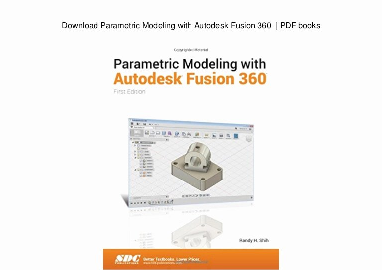 360 Deal Contract Pdf Elegant Download Parametric Modeling with Autodesk Fusion 360