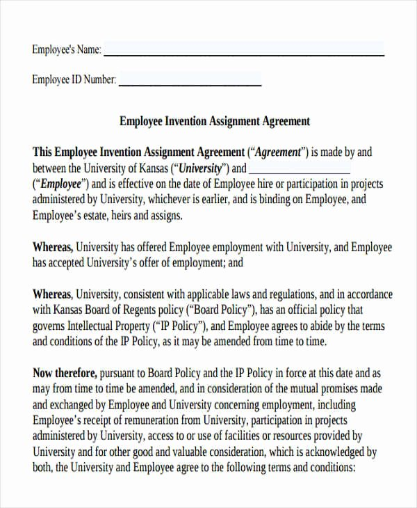 360 Deal Contract Pdf New 17 assignment Agreement Templates Word Pdf Pages