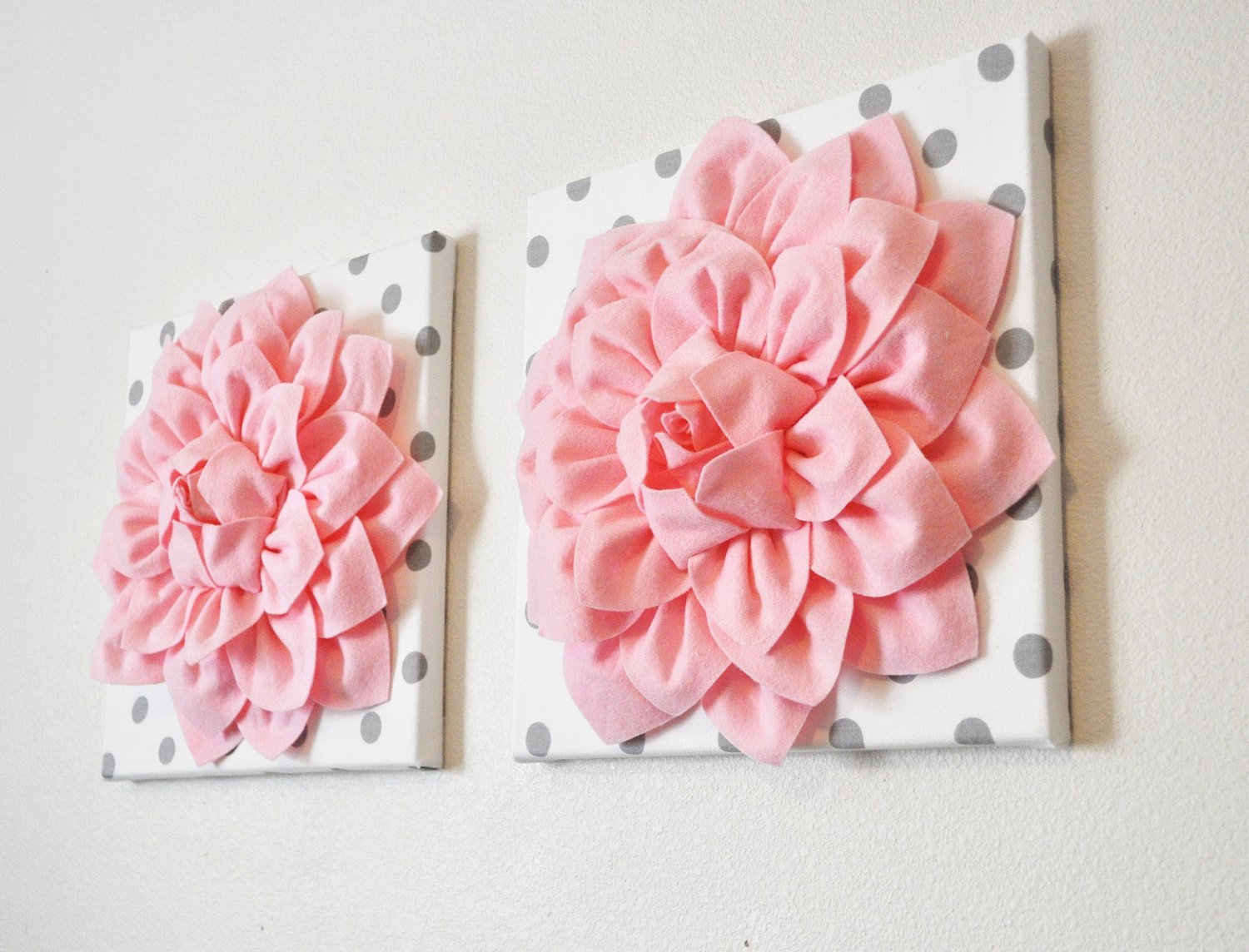 3d Canvas Wall Art Inspirational 3d Wall Art Picture Canvas Two Wall Decor Baby Pink