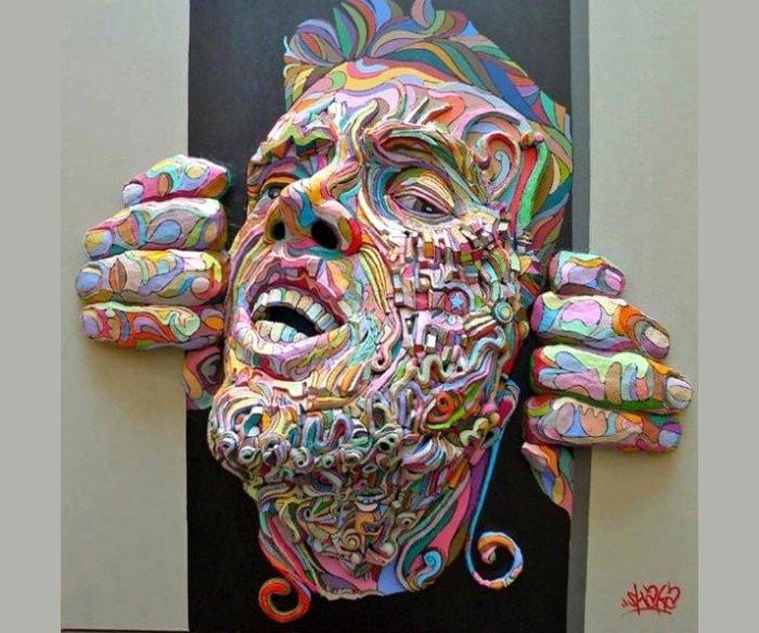 3d Canvas Wall Art Inspirational 49 Best 3d Art Painting Canvas Collection