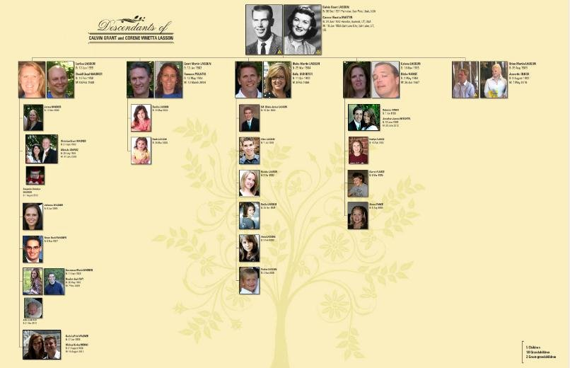 whos who in our family tree