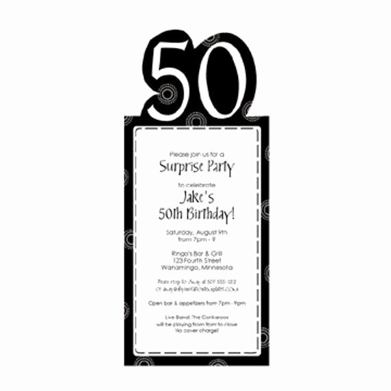 50th Anniversary Invitation Template Beautiful 50th Birthday Party Invitation Template by Loveandpartypaper