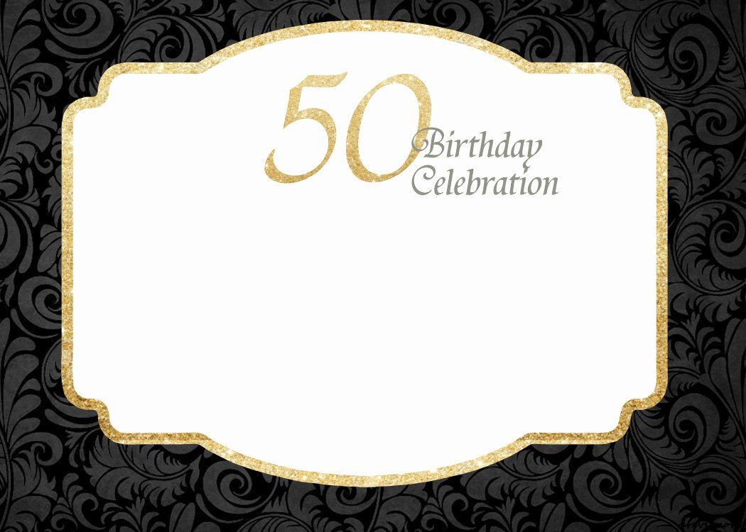 50th Anniversary Invitation Template Fresh Free Printable 50th Birthday Invitations Template Free Invitation Templates Drevio