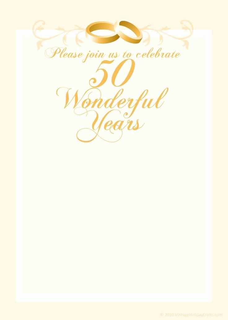 50th Anniversary Invitation Templates Inspirational Free Anniversary Invitation Templates Cleavercrafts