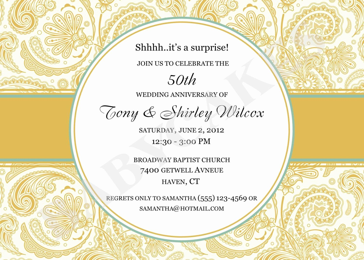 50th Anniversary Invitations Templates Awesome 50 Wedding Anniversary Invitation 50th Wedding Anniversary Invitations Invite Card Ideas