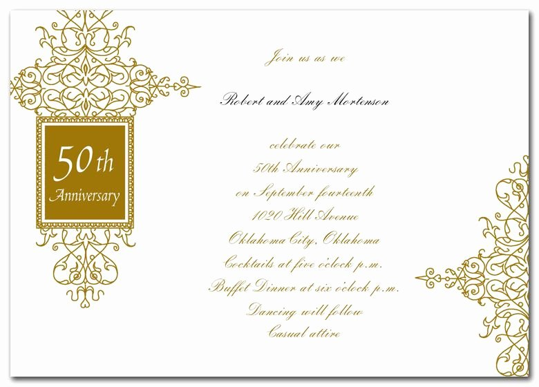 50th Anniversary Invitations Templates Unique 50th Anniversary Invitations Google Search 50th Anniversary Invites & Words
