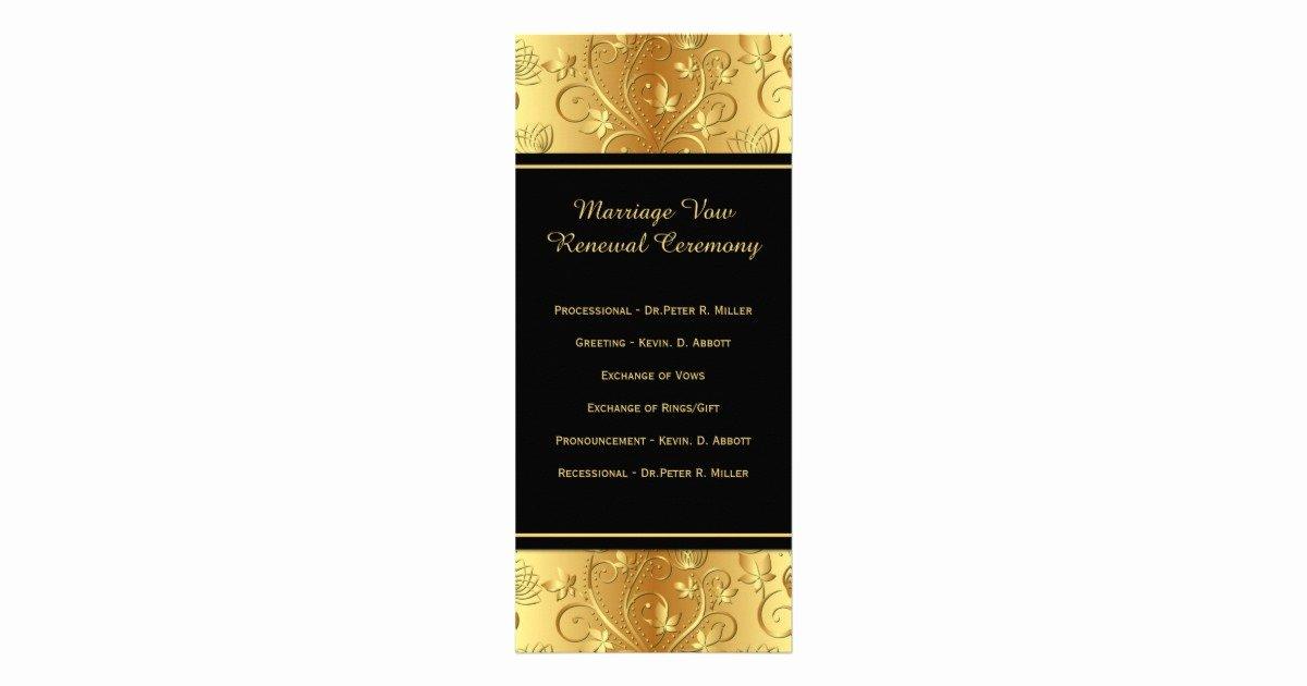 50th Wedding Anniversary Program Best Of 50th Wedding Anniversary Vows Renewal Program