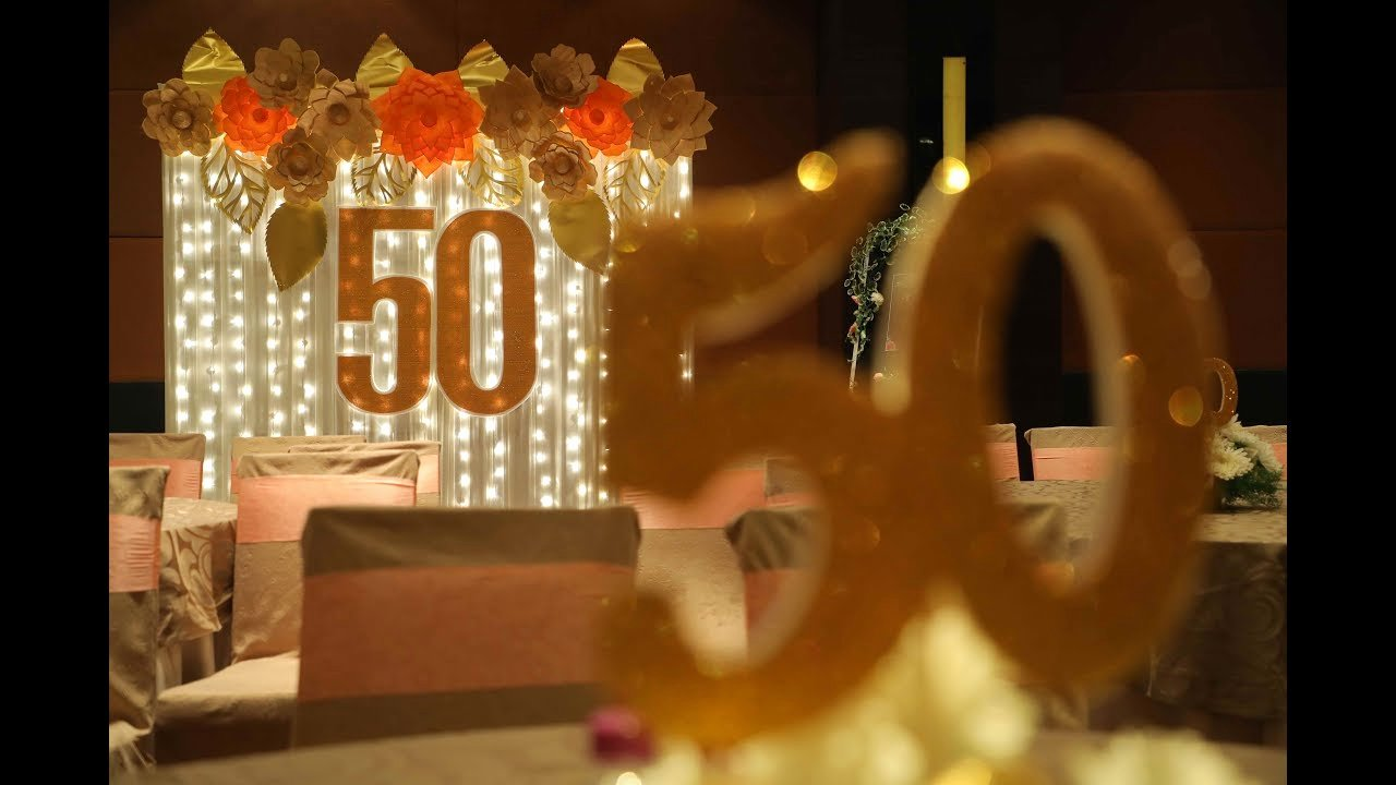 50th Wedding Anniversary Program Luxury 50th Wedding Anniversary Program Video