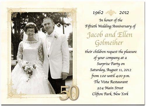 50th Wedding Anniversary Program Luxury 50th Wedding Anniversary Program Wording