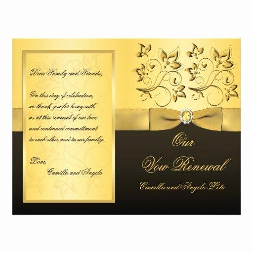 50th Wedding Anniversary Program Luxury 6 Best Of 50th Wedding Anniversary Program Samples