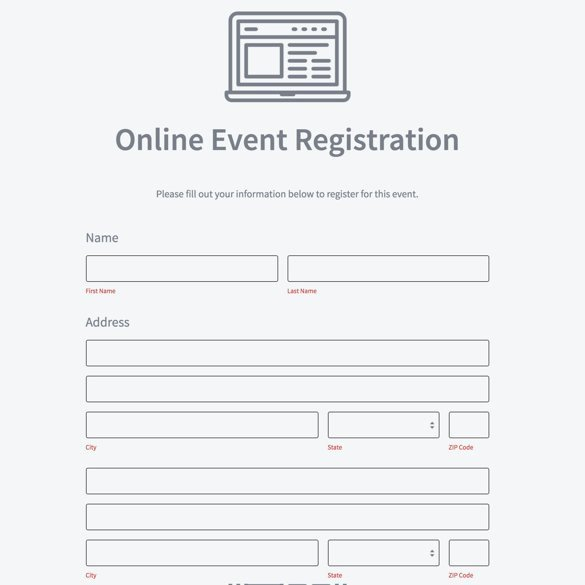 5k Race Registration form Template Best Of Google forms Alternative formstack