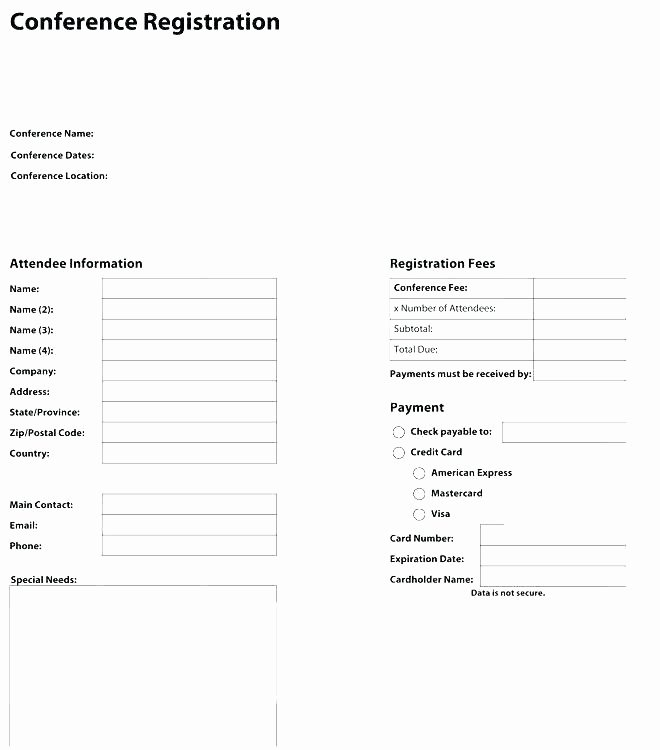 5k Race Registration form Template Fresh Race Registration Template