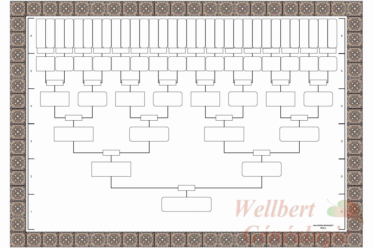 7 Generation Family Tree Template Luxury Fill Blank Family Tree Template … Books Worth Reading