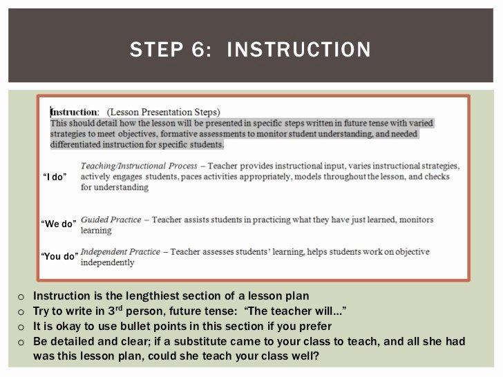 7 Step Lesson Plan Unique How to Write A Lesson Plan