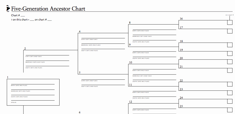 8 Generation Family Tree Template Elegant Download Our 5 Generation Ancestor Chart