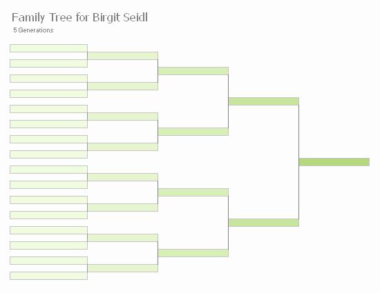8 Generation Family Tree Template Inspirational Family Tree Chart