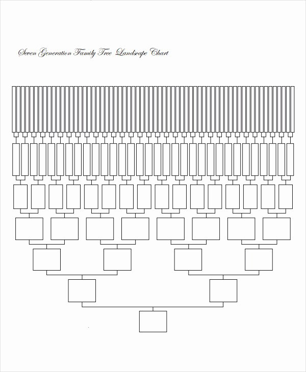 8 Generation Family Tree Template Unique 19 Family Tree Templates