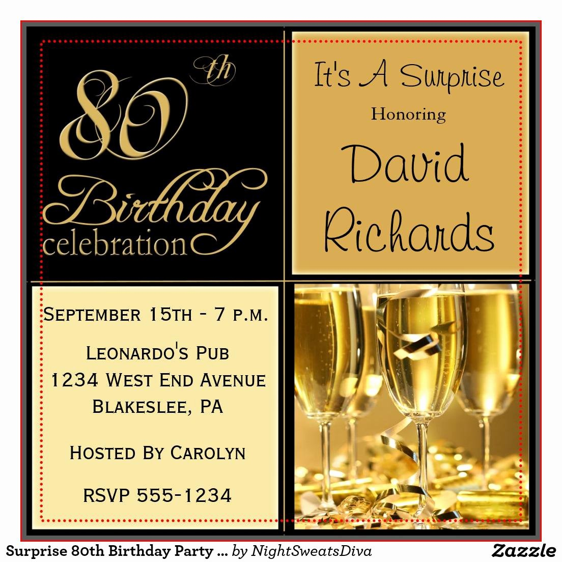 80th Birthday Invitation Templates Beautiful 15 Sample 80th Birthday Invitations Templates Ideas – Free Sample