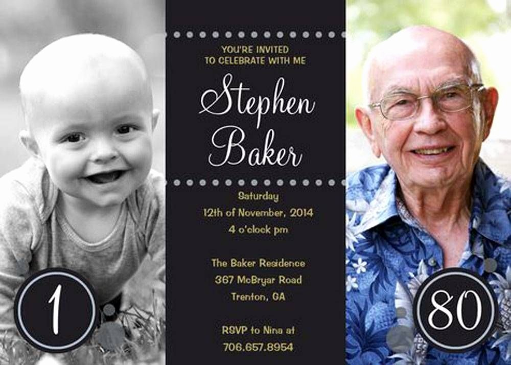80th Birthday Invitation Templates New 80th Birthday Party Invitations Templates Free Download