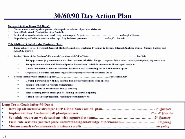 90 Day Action Plan Template Lovely 5 90 Day Plan for New Managers Examples Pdf