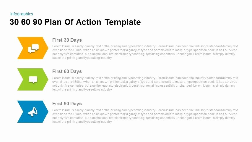 90 Day Action Plan Template Unique 30 60 90 Day Plan Powerpoint Templates for Everyone