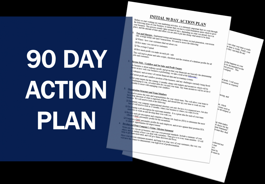 90 Day Action Plan Templates Inspirational Leadership Strategies for Your Trades Business Profitable Tra
