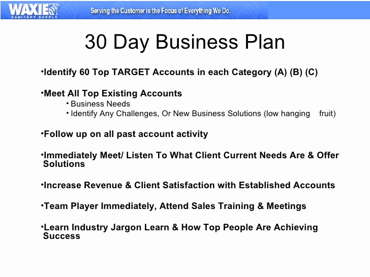 90 Day Business Plan Template Elegant 30 60 90 Business Plan
