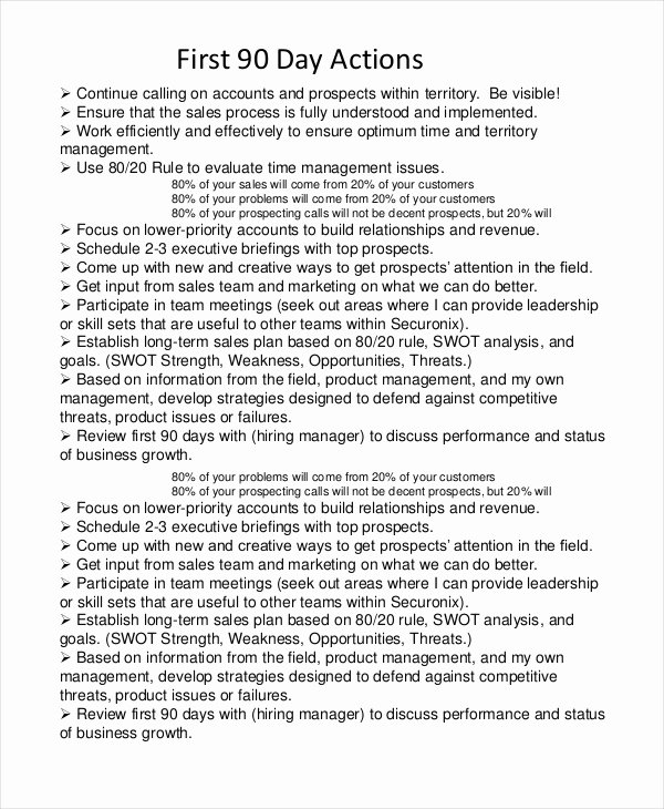 90 Day Business Plan Template New 28 Business Plan Templates Word Pdf Docs