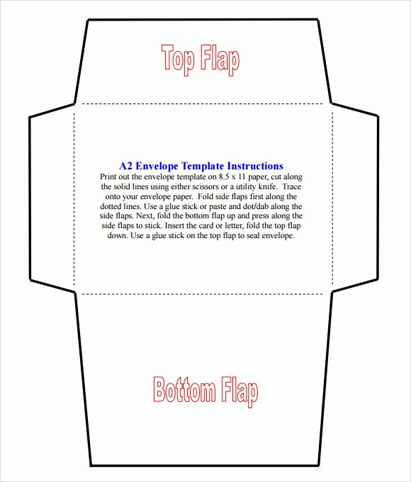 A7 Envelope Template Microsoft Word Awesome Envelope Template Word