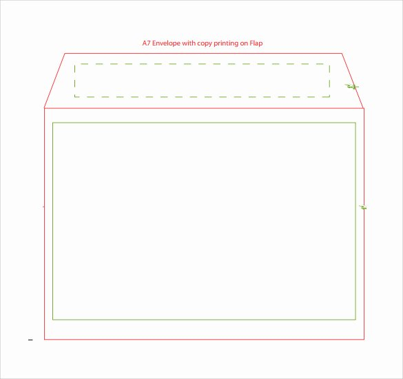 A7 Envelope Template Microsoft Word Beautiful A7 Envelope Template Word