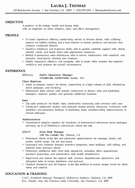 A&p Mechanic Resume Beautiful Bination Resume Sample Holistic Health Beauty Job Hunting Tips