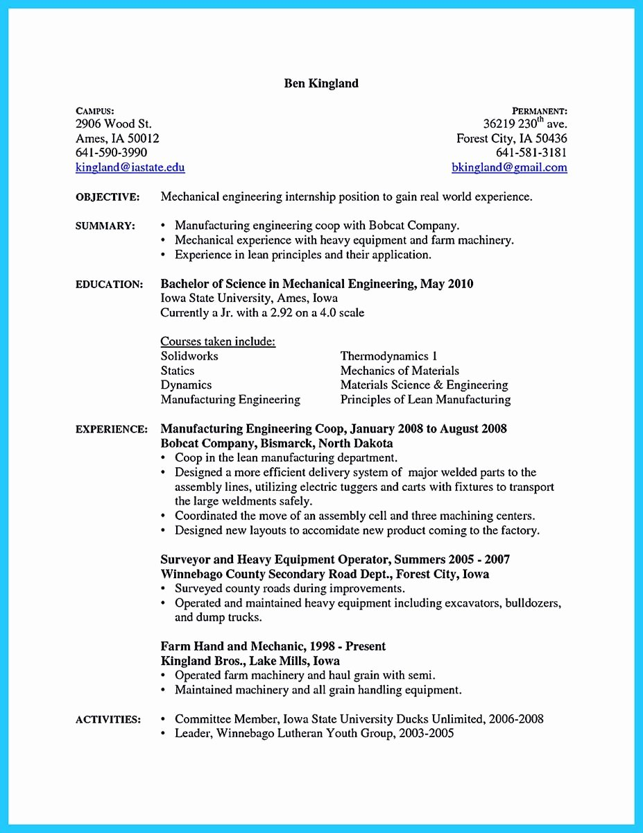 A&p Mechanic Resume New Writing A Concise Auto Technician Resume