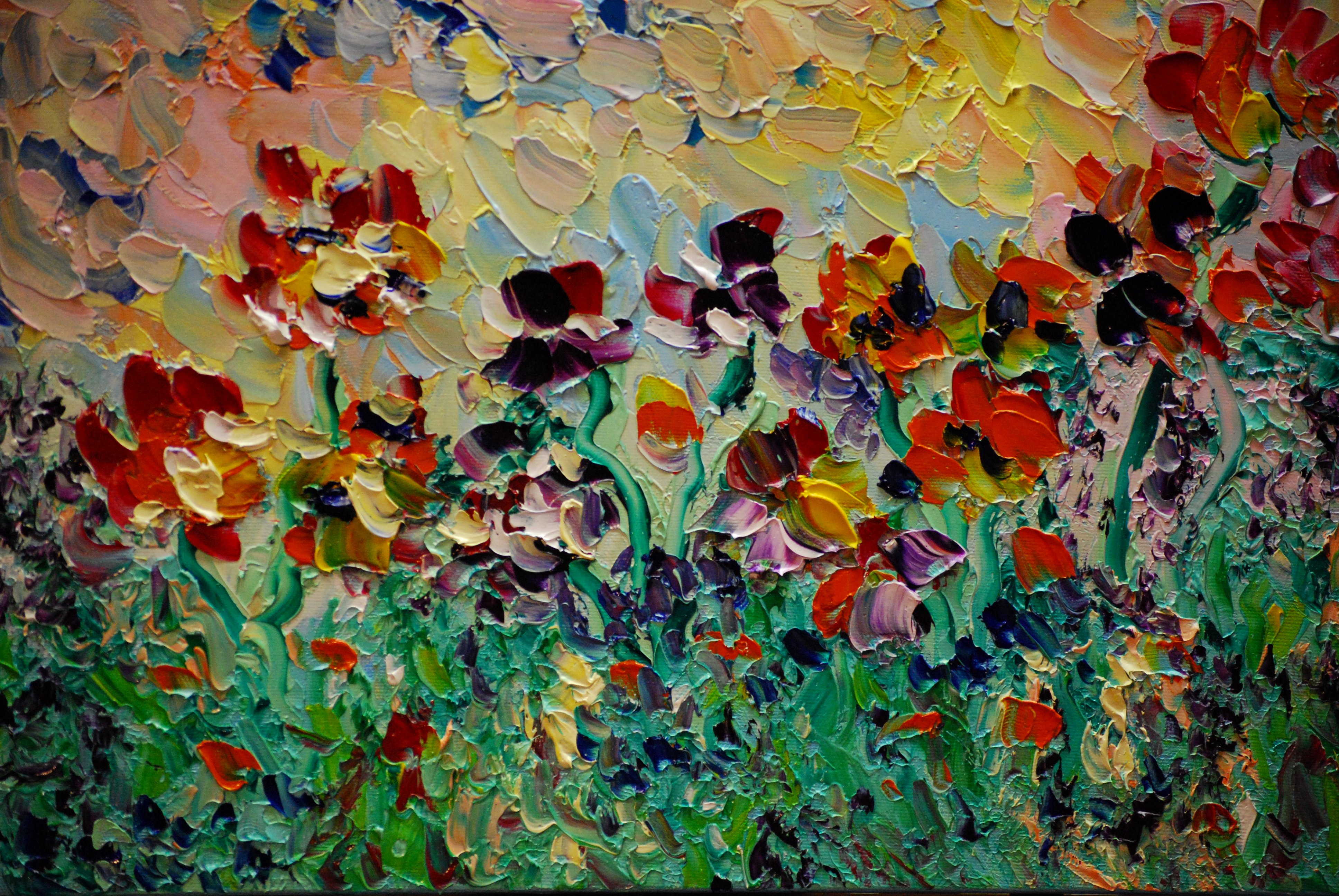 Abstract Painting Of Flower Inspirational Inspiration Everywhere… Aweninspirationsarw