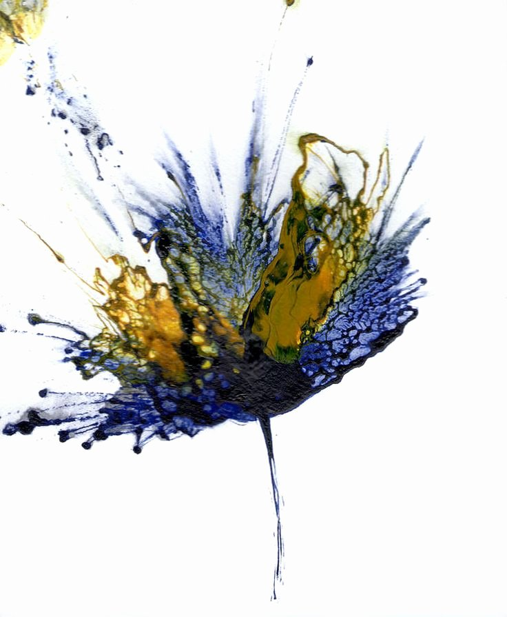 Abstract Painting Of Flower Lovely 17 Best Ideas About Abstract Flower Paintings On Pinterest