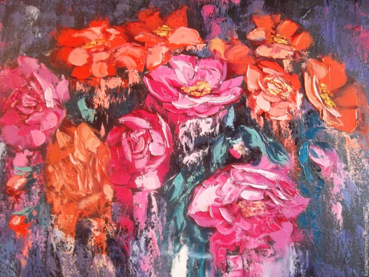 Abstract Painting Of Flowers Beautiful 20 Collection Of Abstract Flower Paintings