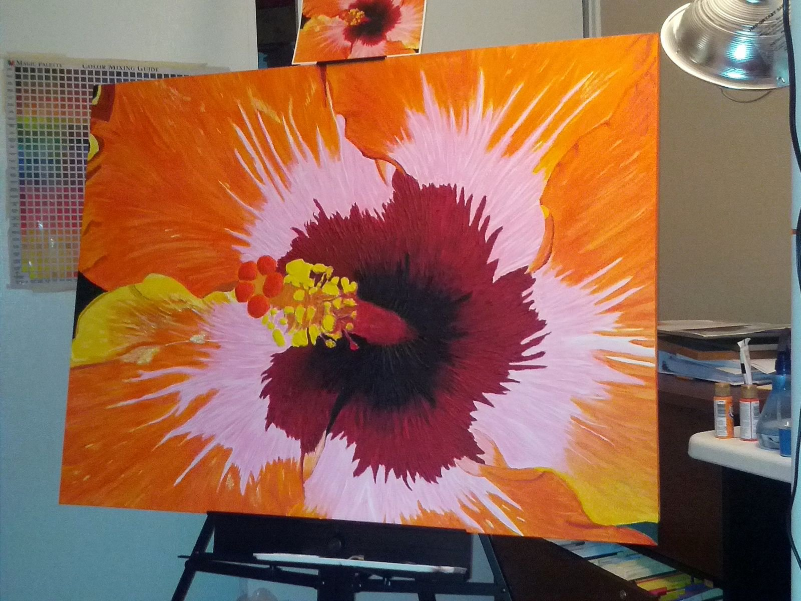 Abstract Painting Of Flowers Lovely Abstract Art Lessons