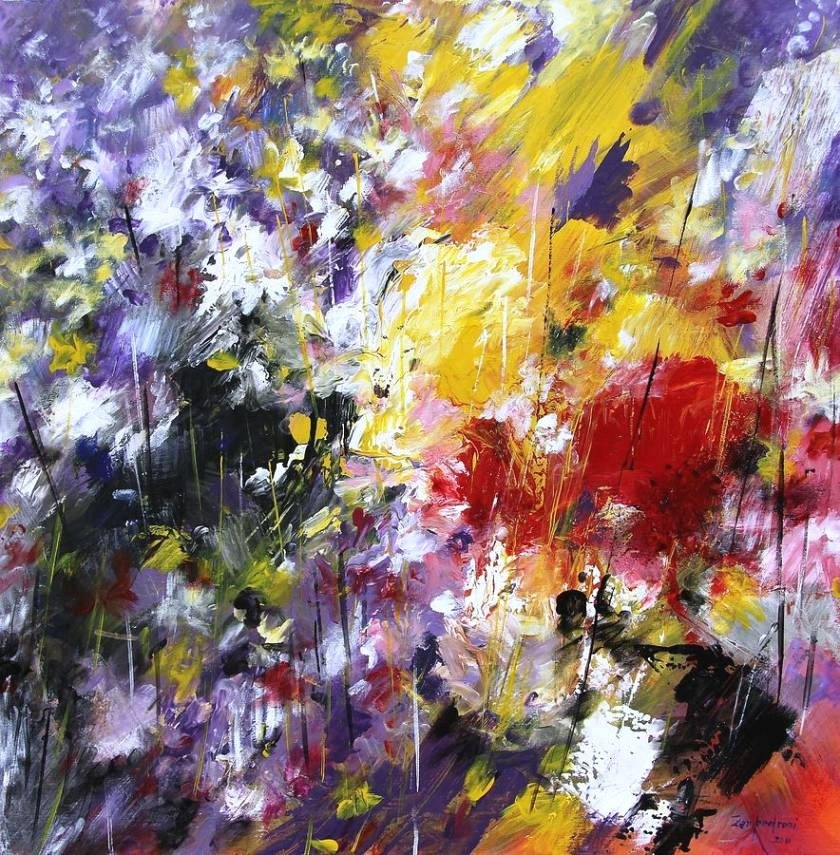 Abstract Paintings Of Flowers Awesome 20 Collection Of Abstract Flower Paintings