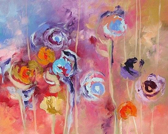 Abstract Paintings Of Flowers Inspirational 55 Best Images About Abstract Floral Art On Pinterest