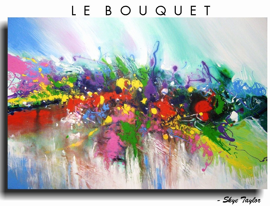 Abstract Paintings Of Flowers Lovely Modern Abstract Expressionism Abstract Art Flowers Le