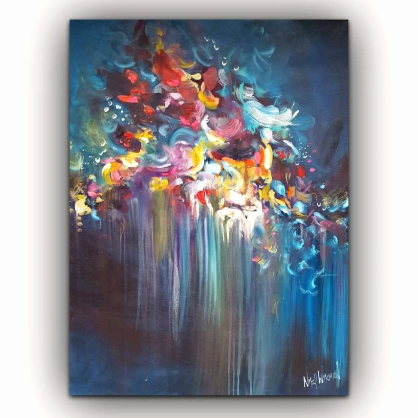 Abstract Paintings Of Flowers New 20 Collection Of Abstract Flower Paintings