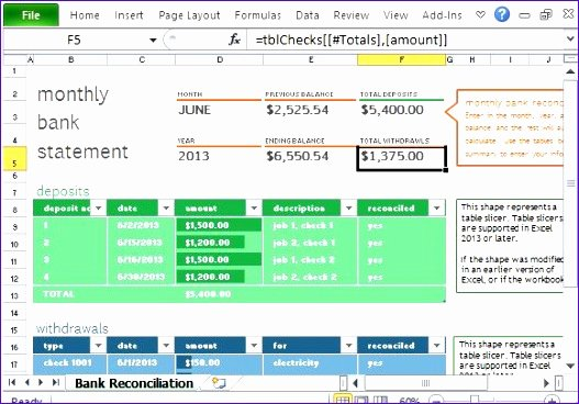 Account Reconciliation Template Excel Best Of 5 Account Reconciliation Template Excel Exceltemplates Exceltemplates