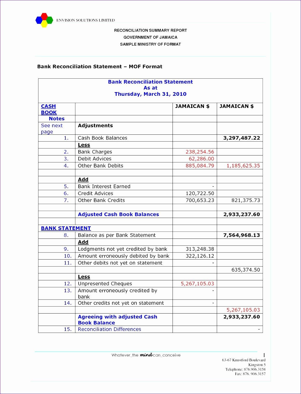 Account Reconciliation Template Excel Elegant 5 Account Reconciliation Template Excel Exceltemplates Exceltemplates