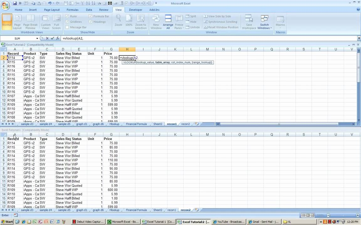 Account Reconciliation Template Excel Inspirational Excel Reconciliation Process Using Vlookup